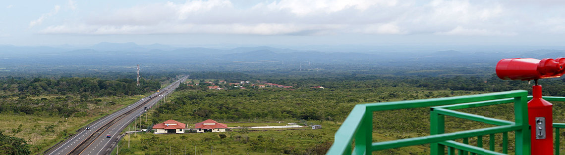 Panoramic view from the lighthouse El Faro